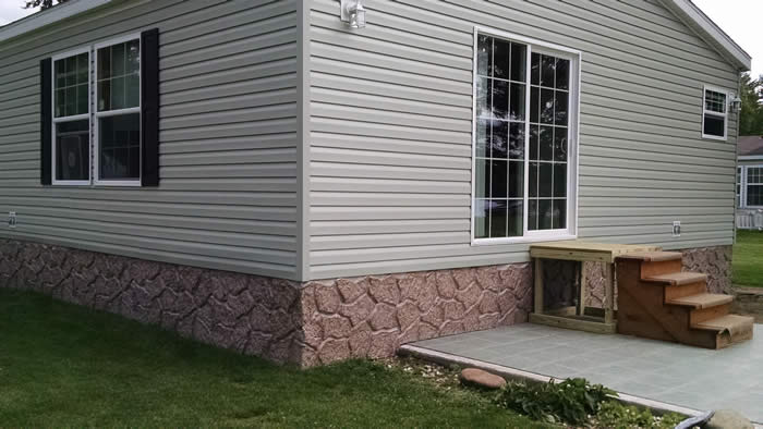 stone skirting for mobile homes with Entertitleskirtingtitle on Siding Options together with Happy Birthday To Meeee moreover Exterior Ideas For Mobile Homes further Modular Homes Landscaping together with 7 Testimonials And Reviews.